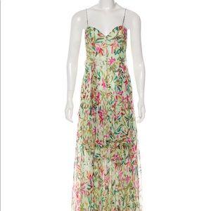 Missoni Silk Metallic Maxi Dress Size S